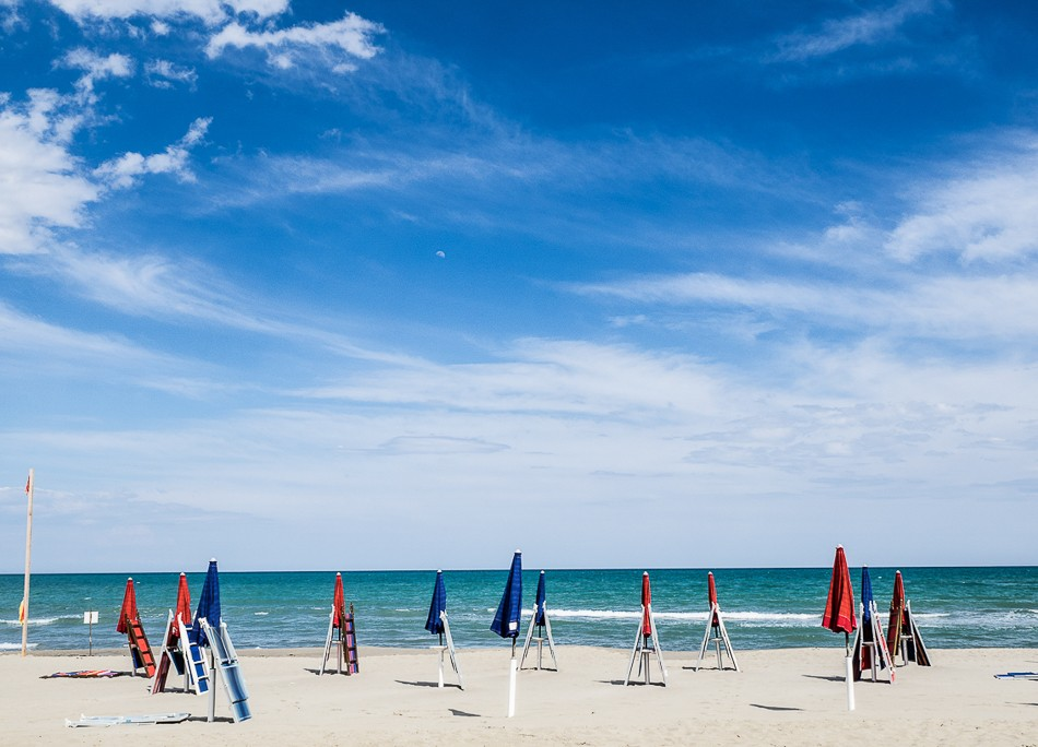 La spiaggia di Scanzano - fotografia di Andrea Semplici