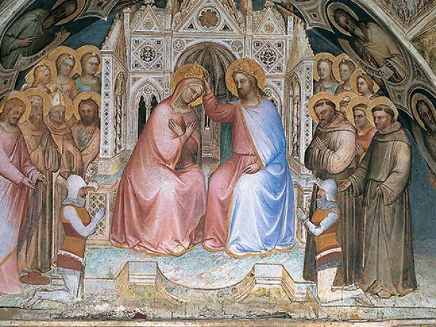 L'incoronazione della Vergine di Giusto de' Menabuoi