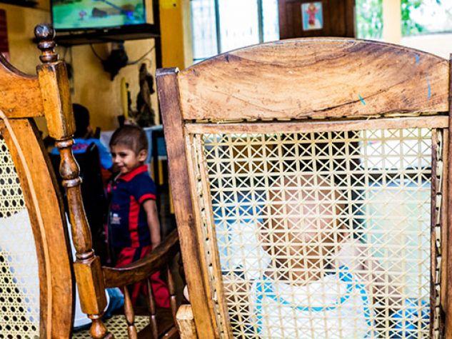 Piccoli pazienti all'ospedale infantile Manuel de Jesùs Rivera - La Mascota di Managua