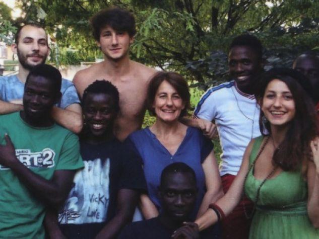 foto di gruppo per la famiglia Calò