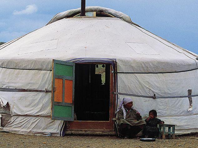 Ger, abitazione tradizionale della Mongolia