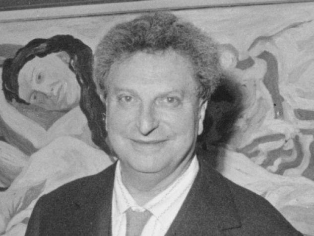 Lo scrittore e pittore Carlo Levi nel 1962.