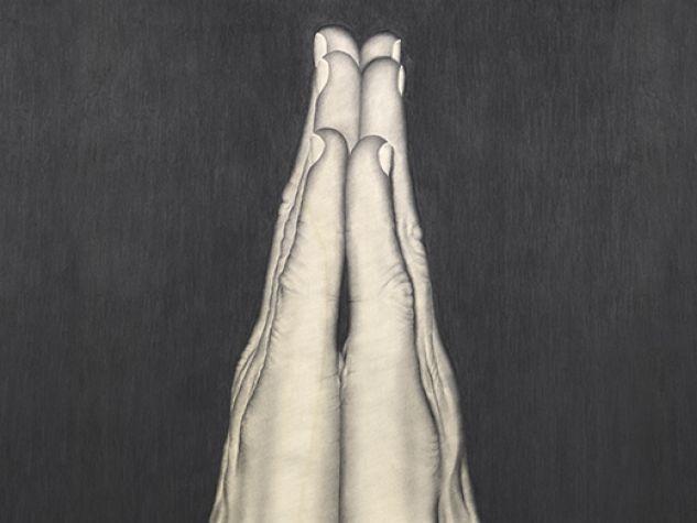 Daniela Alfarano, Pentimento (2007), grafite su tavola. Per gentile concessione dell'autrice.
