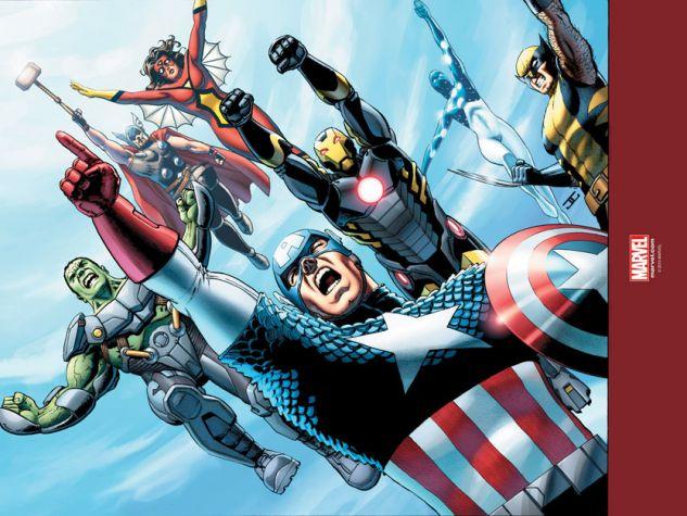 Gli Avengers della Marvel nella loro attuale formazione. (Per gentile concessione di «Wow Spazio Fumetto»).