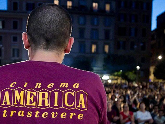 Serata al Cinema America di Trastevere