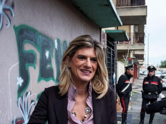 Federica Angeli in uno scatto del novembre 2017.