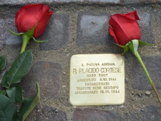 Una pietra d'inciampo per p. Placido Cortese