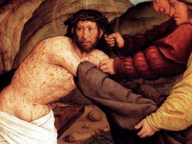 quadro Bernhard Strigel, Cristo denudato