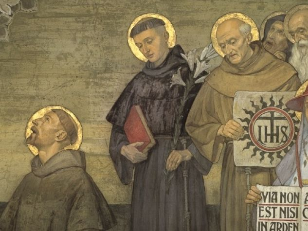affresco santi francescani