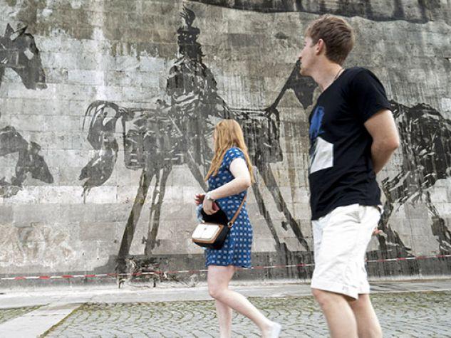 Arte di strada. Triumphs and Laments, Roma.