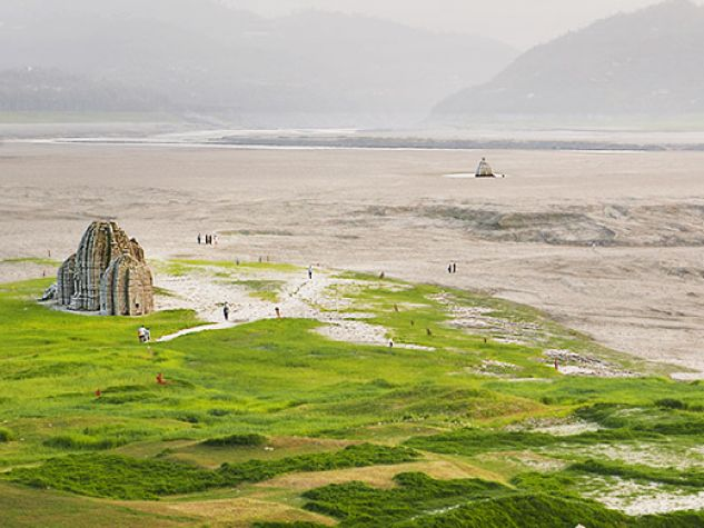 Kashmir, Antica Bilaspur inghiottita dalle acque