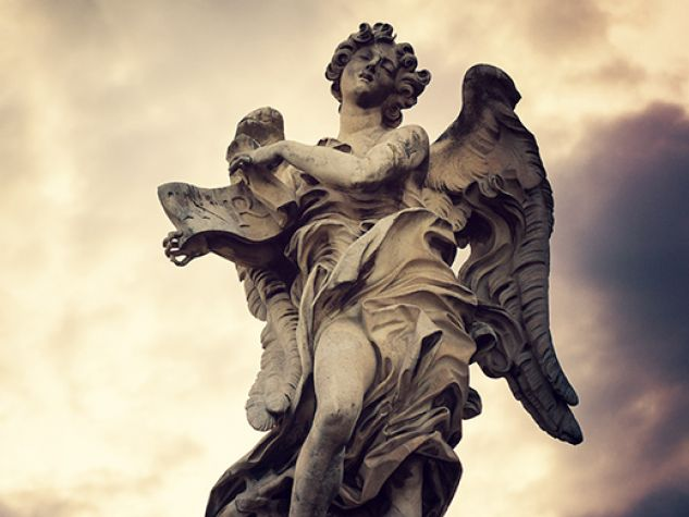 l'angelo di ponte Sant'Angelo a Roma