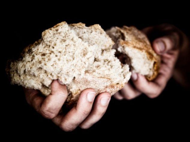 Condividere il pane. Sempre