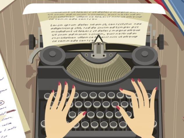 La scrivania di una giornalista è lo specchio del suo mondo.