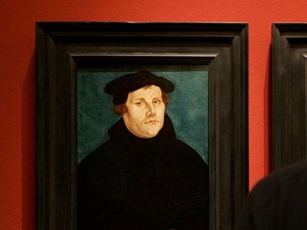 un ritratto di Martin Lutero