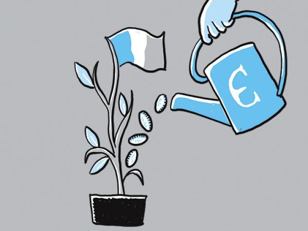 Illustrazione: coltivare la ricchezza buona