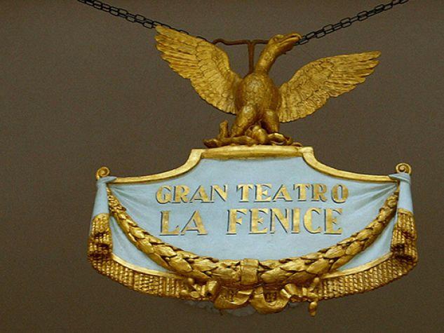 Il simbolo del teatro la Fenice di Venezia