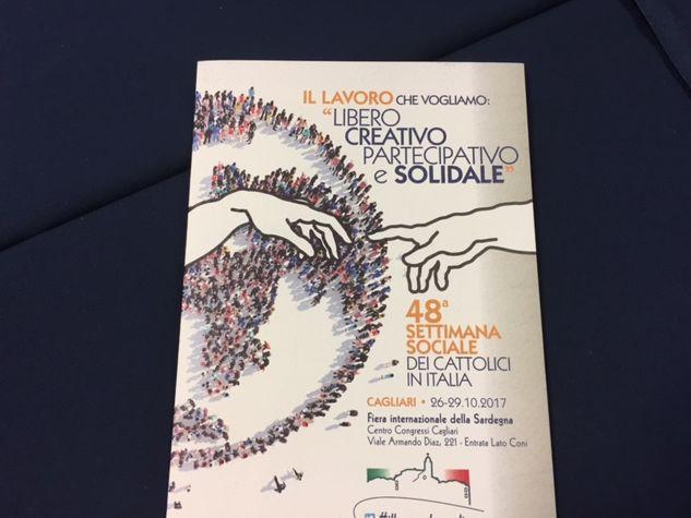 Il logo della Settimana sociale di Cagliari