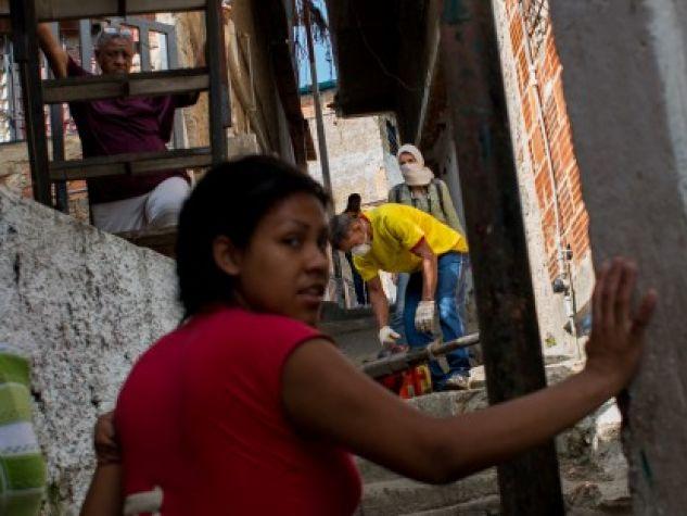 slum di Petare, a Caracas
