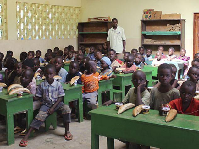 Scuola multietnica Sembè Congo