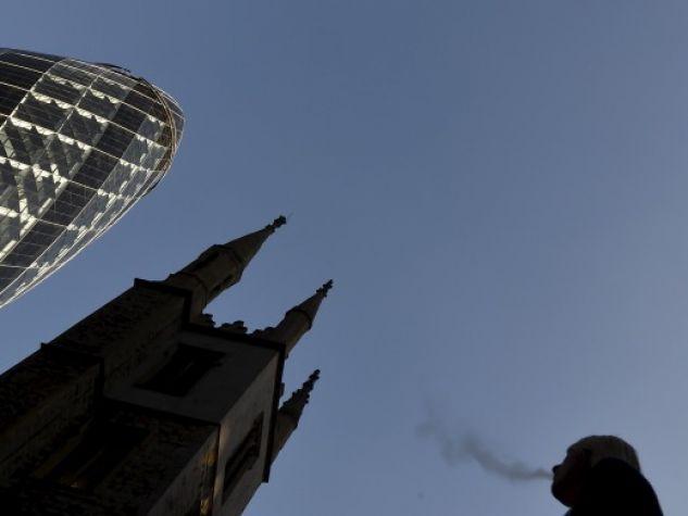 Il profilo di chiese e grattacieli si staglia sul cielo di Londra