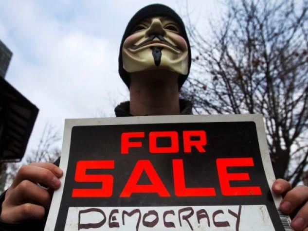 Democrazia in vendita?