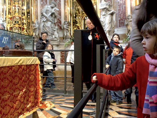 L'ostensione del corpo di sant'Antonio, Padova febbraio 2010