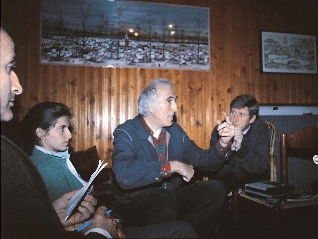 Jean Vanier al Villaggio sant'Antonio