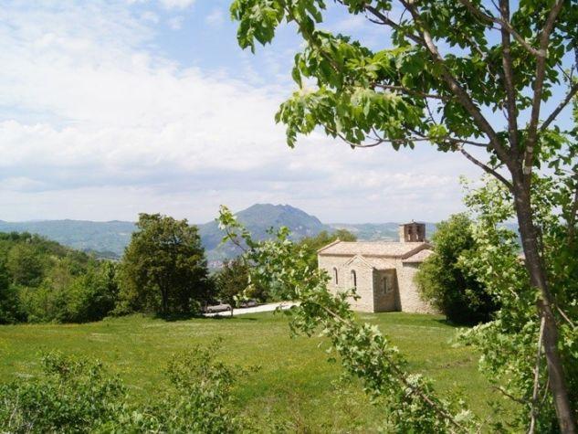 il piccolo convento di Sant'Igne