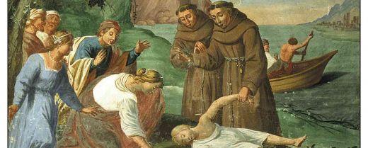 Sant''Antonio e il miracolo del giovane annegato