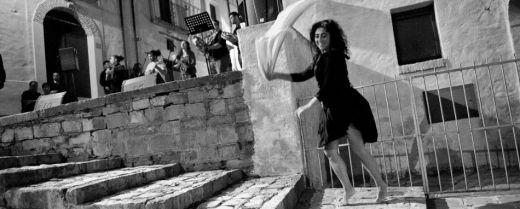 Caterina danza, al festival di Aliano