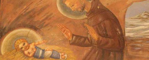 San Francesco con Gesù Bambino