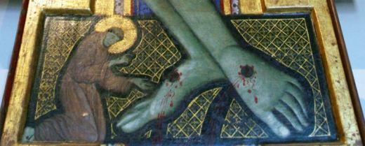 San Francesco ai piedi del crocifisso