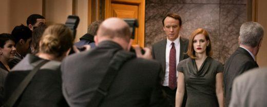 L'attrice Jessica Chastain è una lobbista in cerca di riscatto nel film «Miss Sloane – Giochi di potere».