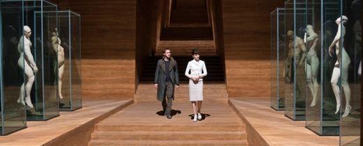 Una scena tratta da «Blade Runner 2049» con protagonista Ryan Gosling nei panni dell'agente K.