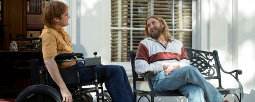 Joaquin Phoenix e Jonah Hill in una scena di «Don't worry».