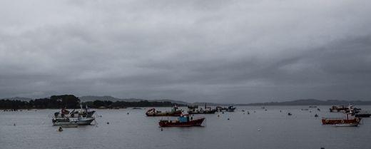 barche in Galizia