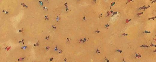 """Una scena tratta da """"Human flow"""", il lungometraggio dell'artista e dissidente politico Ai Weiwei."""
