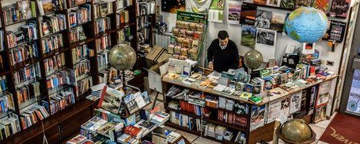 L'interno della libreria Gulliver di Verona