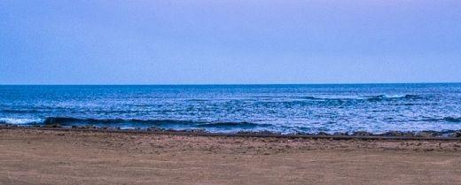la spiaggia di Mazara del Vallo