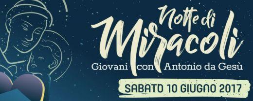 il logo della notte di miracoli 2017
