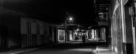 notte in Nicaragua