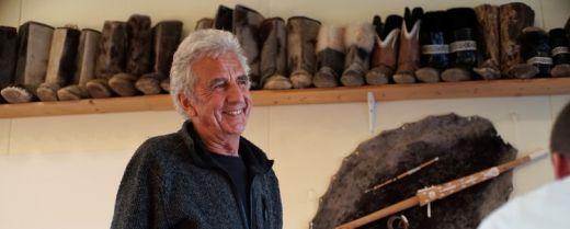 Robert Peroni ha aperto la Casa Rossa di Tasiilaq nel 1986.