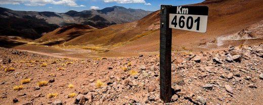 tratto argentino della Ruta 40