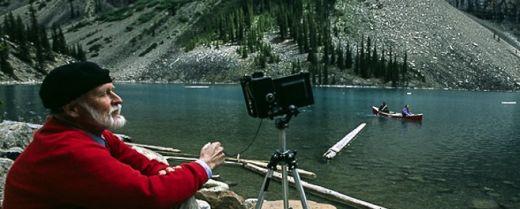 fotografo anziano in Canada