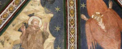 affresco di san Francesco stimmatizzato