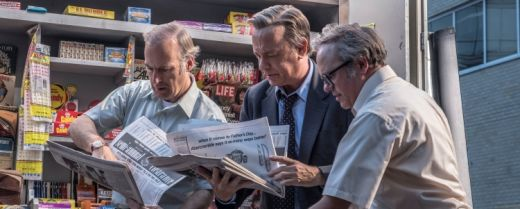 Una scena tratta da «The Post», con protagonista Tom Hanks (al centro).