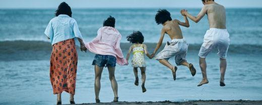 La famiglia Shibata in una scena di «Un affare di famiglia».