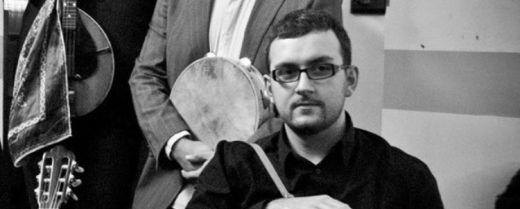 Davide Ierardi, musicista membro del gruppo «Santa Taranta».