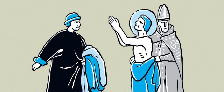 spogliazione di san Francesco